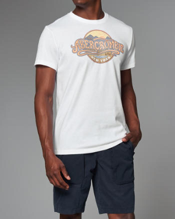 Mens Logo Graphic Tee