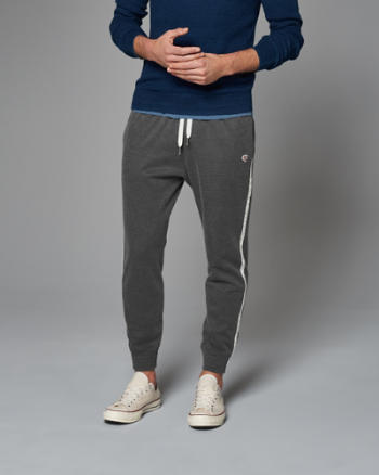 Mens Logo Graphic Joggers