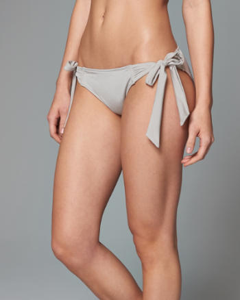 Womens Side Tie Swim Bottom