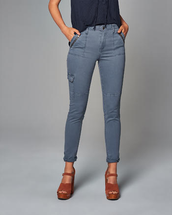 ANF Super Skinny Military Pants