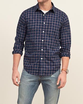 ANF Iconic Plaid Shirt