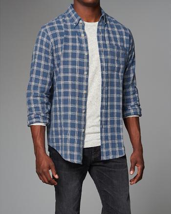 ANF Plaid Shirt