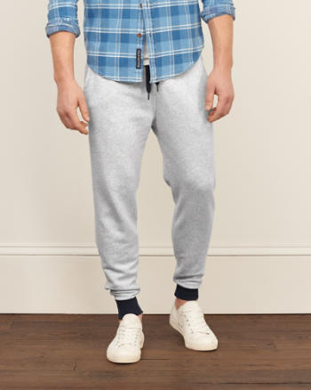 ANF Contrast Joggers