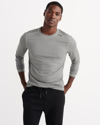 Mens Active Long-Sleeve Base Layer