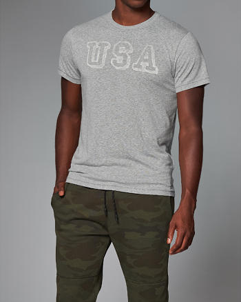 ANF Americana Graphic Tee