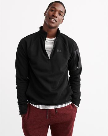 ANF Active Half-Zip Mock Pullover