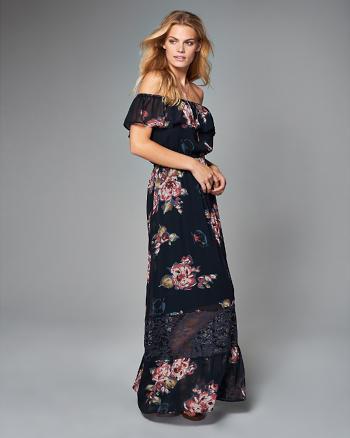 ANF Off-The-Shoulder Maxi Dress