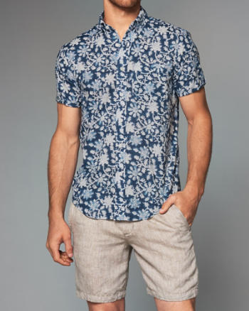 Mens Short-Sleeve Shirt