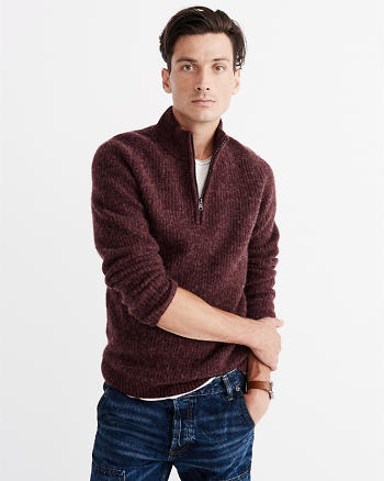 ANF Half-Zip Sweater
