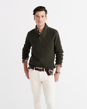 ANF Shawl Collar Pullover