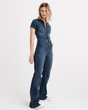 ANF Denim Jumpsuit