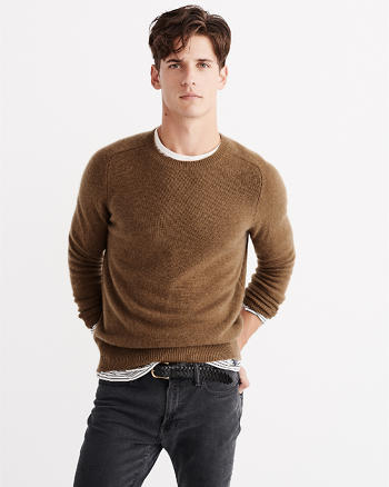 ANF Cashmere Crew Sweater