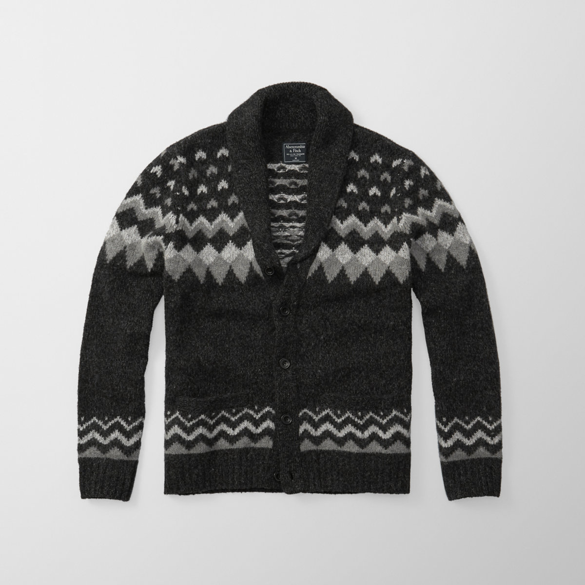 Fairisle Shawl Cardigan