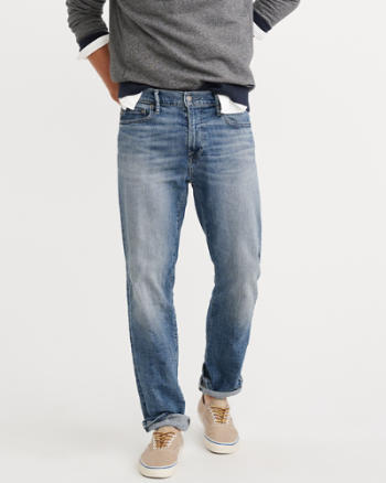 Mens Classic Straight Everyday Jeans