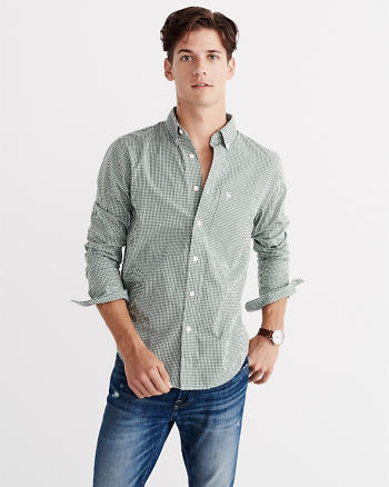 ANF Cotton Poplin Shirt