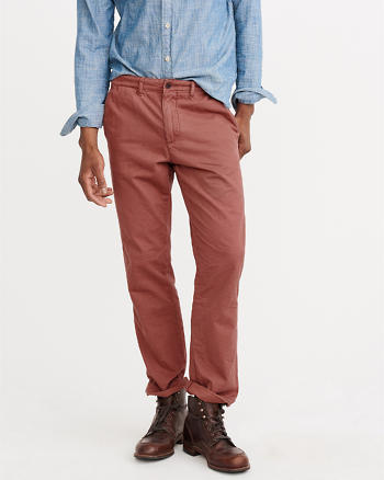 ANF Classic Straight Chino Pants