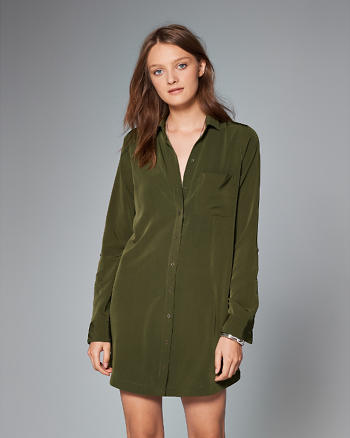 ANF Pocket Shirt Dress
