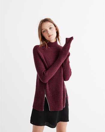 ANF Mock Neck Sweater