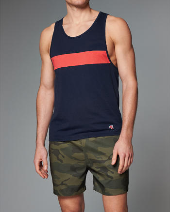 ANF Chest Stripe Tank