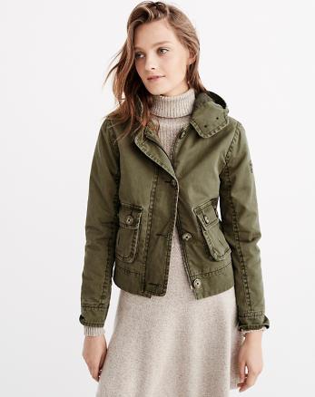 ANF Twill Jacket