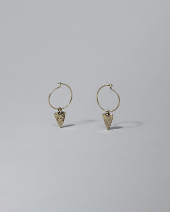 ANF Triangle Drop Earrings