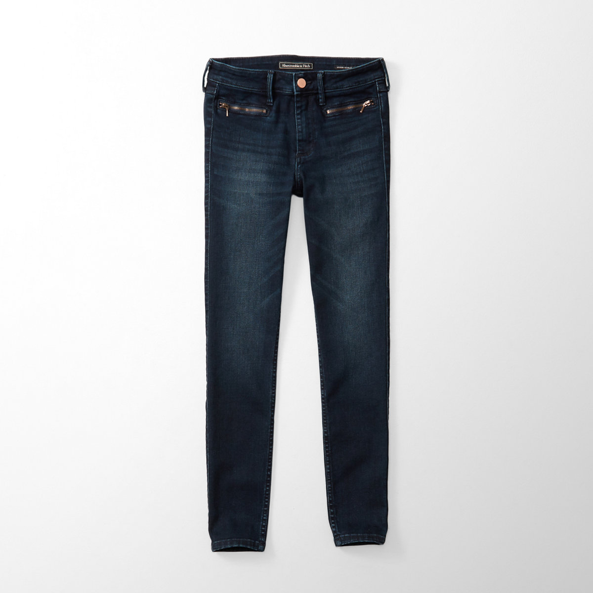 Zip Ankle Jeans