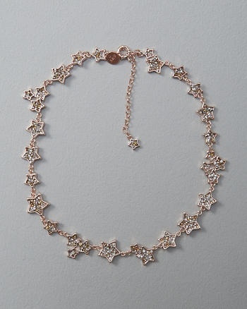 ANF Shimmer Star Necklace
