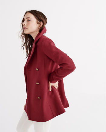 ANF Classic Wool Peacoat