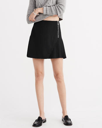 ANF Pleated A-Line Skirt