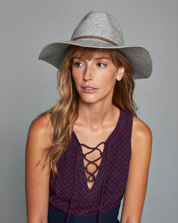 ANF Braid Band Felt Hat
