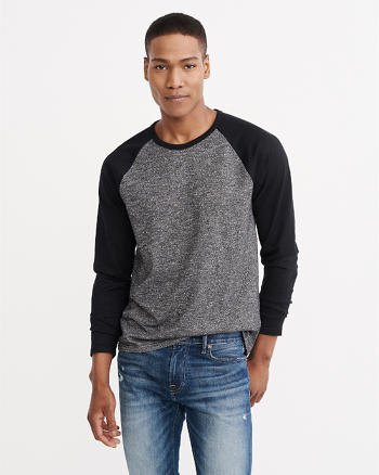 ANF Raglan Long-Sleeve Top
