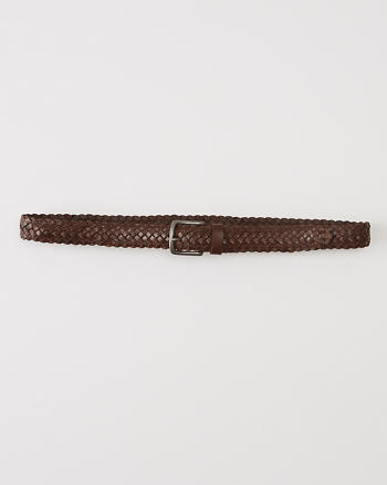 ANF Woven Leather Belt
