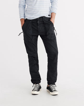 ANF Slim Straight Paratroop Pants