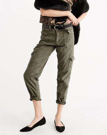 ANF Boyfriend Military Pants