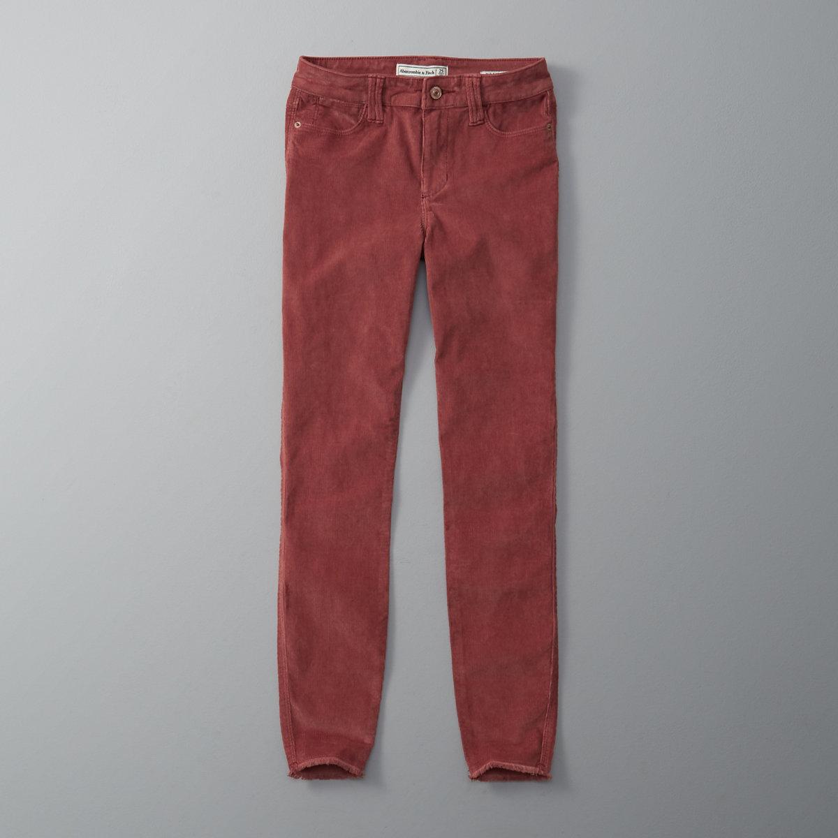 Super Skinny Corduroy Pants
