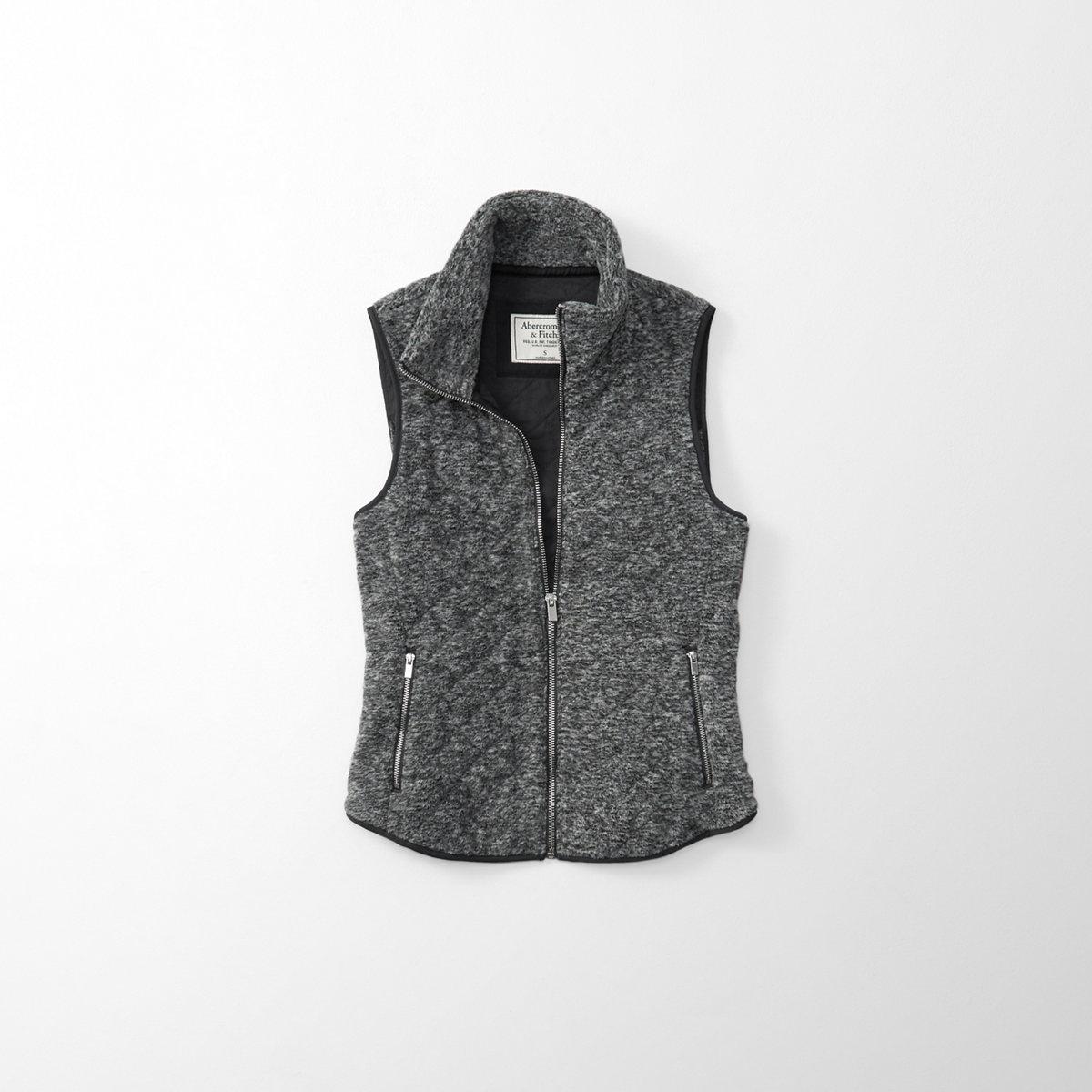 Fleece Quilted Vest