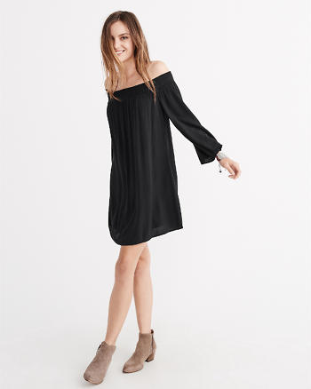 ANF Off The Shoulder Swing Dress