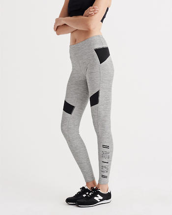 ANF Active Colorblocked Leggings