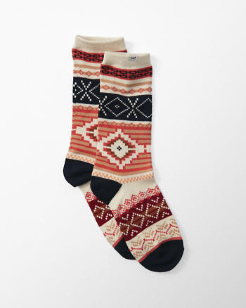 ANF Patterned Socks