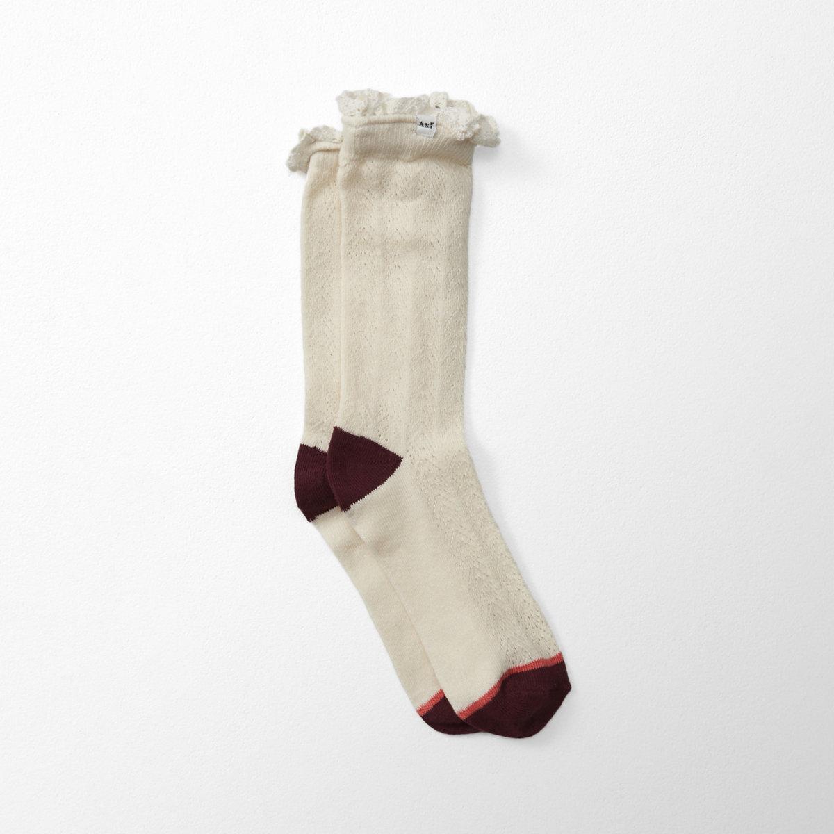 Pointelle Socks