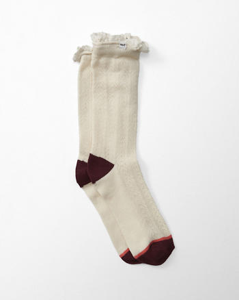 ANF Pointelle Socks