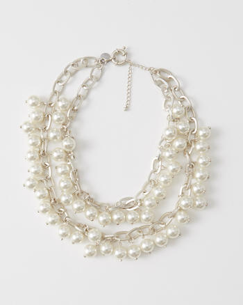 ANF Faux Pearl Necklace