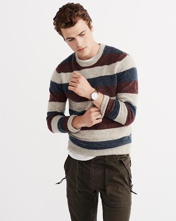 ANF Striped Wool Sweater