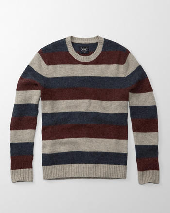 ANF Striped Wool Sweater