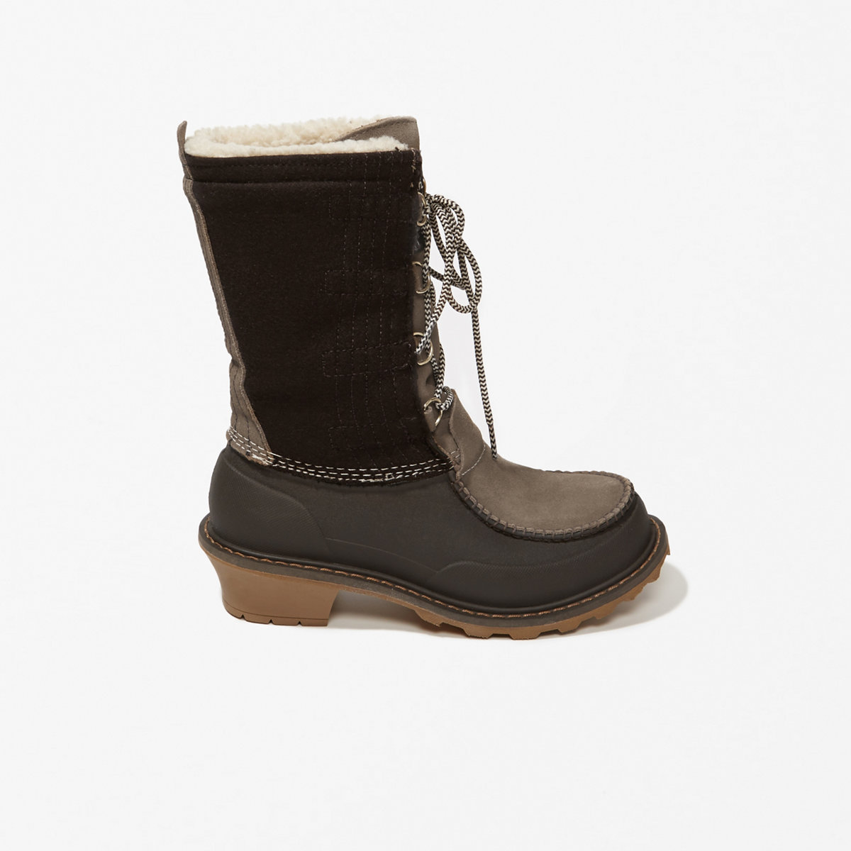 Woolrich Wooly Lace-Up Boots