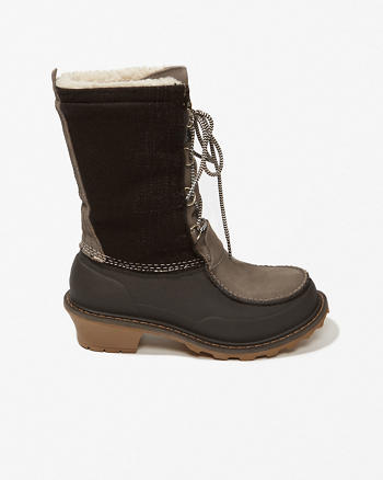 ANF Woolrich Wooly Lace-Up Boots