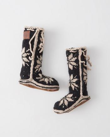 ANF Woolrich Slipper Socks