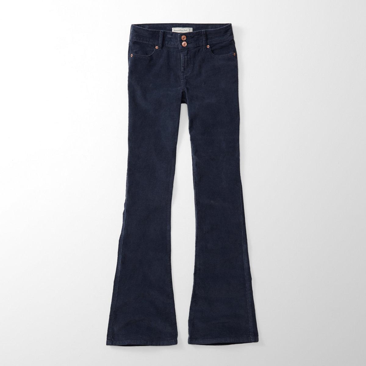 Skinny Flare Corduroy Pants