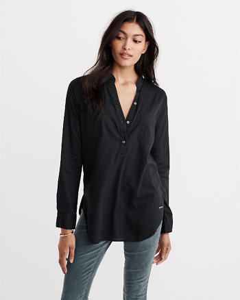 ANF Popover Tunic Top