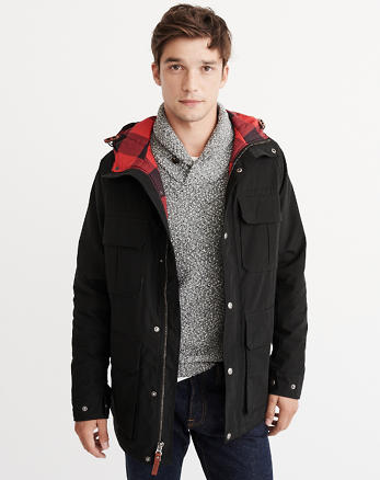 ANF Woolrich Advisory Parka